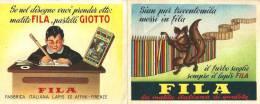 FILA: MATITA ITALIANA DI QUALITA' (aprib: Pubblic. E Orario Lezioni) - Mm.122x96 - Pubblicitari