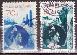 1931-33 Koningin Wilhelmina Gestempelde Serie NVPH 236 / 237 - Periodo 1891 – 1948 (Wilhelmina)