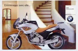 Carte Publicitaire--Moto  BMW  --2003--éd Tequila - Motorbikes