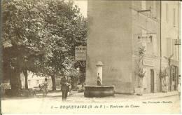 CPA  ROQUEVAIRE, Fontaine Du Cours  7070 - Roquevaire