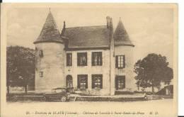 33 - GIRONDE - SAINT GENES DE BLAYE  Pres Blaye - Le Chateau De Lassalle - Francia