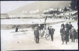 CROATIA  - ISTRIA  - OPATIJA - ABBAZIA - Bagno LIDO - FIRST  PLANE  Landed Because Of A Failure  - Cc 1910 - RARE - Kroatië