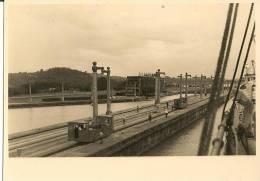 PHOTO-NOIR ET BLANC-1930-12x8.5cm-PANAM A-CANAL PASSAGE En BATEAU-TBE-ORIGINALE-RA - Lieux