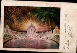 ST-LOUIS _ WORLD FAIR 1904 - CASCADES PYROTECHNIC DISPLAY - Etats-Unis
