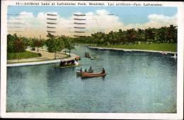 ARTIFICIAL LAKE AT LAFONTAINE PARK A MONTREAL - Etats-Unis