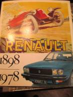 Renault / 1898- 1978/ 80 Ans / 20 Millions De Renault/ Garage Du Centre / Cannes/1978     VP508 - Auto