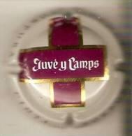PLACA DE CAVA JUVE CAMPS CINTA PURPURA   (CAPSULE) - Placas De Cava