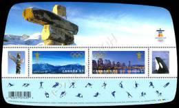 Canada: 2 Foglietti Olimpiadi Di Vancouver 2010 ** - Inverno2010: Vancouver