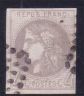 *PROMO* 4c Bordeaux Oblitéré TB Et Signé (Y&T N° 41B, Cote 325€) - 1870 Emissione Di Bordeaux