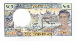 Nouvelle Calédonie - 500 FCFP - Alphabet Z.014 / 2011 / Signatures Barroux-Noyer-Besse - Neuf  / Jamais Circulé - Nouvelle-Calédonie 1873-1985