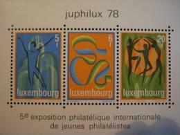 Luxembourg - Juphilux 78  - Année 1978 - Y.T. BF 12 - Neuf (**) Mint (MNH). - Blocks & Kleinbögen