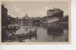 CASTILLO E PONTE SANT´ANGELO  VATICANO   OHL - Vaticaanstad
