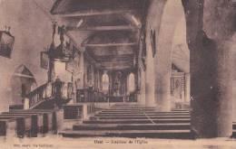 CPA 22  UZEL ,intérieur De L'église. - Frankreich