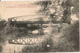 Cpa71 Chagny Ponts Du Chemin De Fer - Chagny