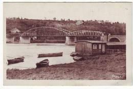 Cpa   St Mammes Pont Sur La Seine - Saint Mammes