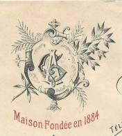 VINS ET SPIRITUEUX  A. GAGNEUX  Avec Entête Vignette à Saint Etienne De St Geoirs Isère Du 27 Décembre 1918 - 1900 – 1949