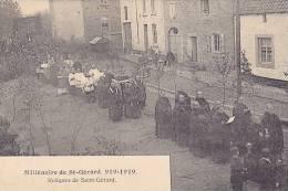 Mettet - Millénaire De St Gérard 919-1919 - Reliques De Saint-Gérard (très Belle Animation) - Mettet