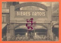 LIEGE  -  Grand Café Métropole - Hôtel -  Place Des Guillemins , 3  -  Bières ARTOIS - Luik