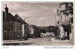 89 COURSON LES CARRIERES - Route De Fouronnes (4 CV) - Courson-les-Carrières