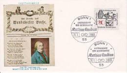 BRD FDC Mi.-Nr. 462 - FDC: Briefe