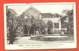 C1289 Santa Catharina Catarina, Joinville, Ancienne Colonie.Edition Mission Propagande Paris.Cachet Lausanne 1910 - Brazil