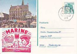 "BRD Postkarte Mit Stempel ""Zerstörer 4"" (ex USS Claxton) - 1977 - Ships"