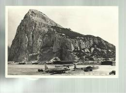 Cartolina D´ Epoca Aerei Gibraltar Northern End Of Rock An Airport - 1946-....: Era Moderna