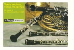 Spectacle, COncerts Vents Anciens, Vents Modernes, Du 16/01 Au 30/04/2003 - Musique & Instruments