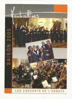 Spectacle, Les Concerts De L'Abbaye - Saison 2005 - Montvilliers (76) - Musique & Instruments