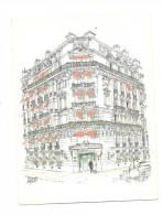 Cp, Commerce, Hôtel De La Trémouille, Paris (75) - Commerce