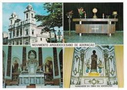 Brasil Brazil Brésil - Recife - Semana Eucaristica - Igreja - Matriz Da Boa Vista - Multi-Vues - VG Condition - Recife
