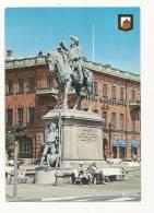 Cp, Suède, Helsinborg, Stenbock-Statyn, Voyagée 1986 - Svezia