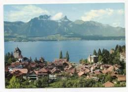 SWITZERLAND - AK143225 Oberhofen Am Thunersee Mit Stockhornkette - BE Bern