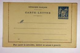 France Carte Lettre J129 X 80 Mm Nr 047