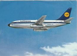 CPSM Compagnie LUFTHANSA - Avions
