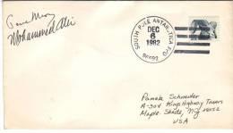 Lettre Du South Pole Antarctica FPO 96692 Du 6 Dec 1982 Vers Maple Shade, NJ - Polar Philately