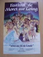 Affiche Festival De Moret Sur Loing - Posters