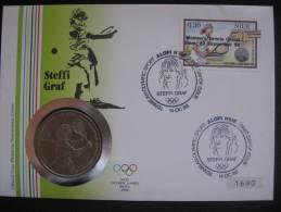 Niue 1988 FDC Numismatic - Ete 1988: Séoul