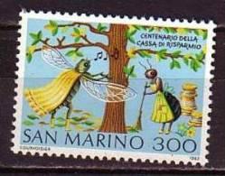 PGL - SAN MARINO SAINT MARIN SASSONE N°1088 ** - San Marino