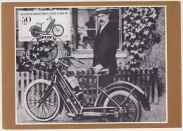 HILDEBRAND & WOLFMÜLLER (1894)  (FDC CARD 1983 - Berlin) - Motorcycle / Motorrad Deutschland - Motos