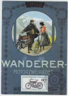 WANDERER (1908) MOTORZWEIRÄDER  (FDC CARD 1983 - Berlin) - Motorcycle / Motorrad Deutschland - Motos