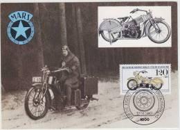 MARS (1925) MOTORRAD, Nürnberg  (FDC CARD 1983 - Berlin) - Motorcycle / Motorrad Deutschland - Motos