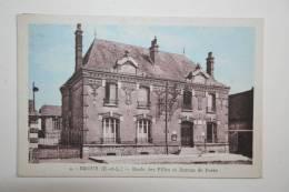 28 : Broué - Ecole Des Filles Et Bureau De Poste  * - Sonstige Gemeinden