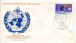Nouvelle Calédonie    FDC Premier Jour 24 Mars.79      Météorologie - Nueva Caledonia