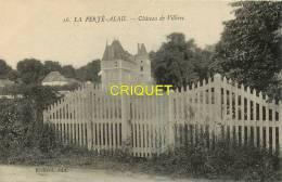 Cpa 91 La Ferté Alais, Chateau De Villiers N° 2 - La Ferte Alais