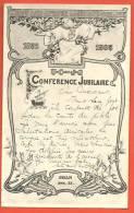 C1276 UCJG Conférence Jubilaire Paris 1855-1905 Europe Asie Afrique Amérique Océanie.Précurseur.Cach Et 1905 - Jésus