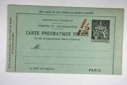 """France 50c Noir Date 130 Surchargé """"Taxe Réduite 30c., Sans 3 Lignes Annulées 50 C"""