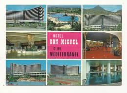 Cp, Commerce, Hotel Don Miguel - Club Méditerrannée - Marbella (Espagne), Multi-Vues, Voyagée - Commercio
