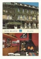 Cp, Commerce, Hôtel Bellevue - Blaye (33), Multi-Vues - Commercio