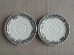 Villeroy & Boch SAAR Deux Coupelles Artemis Motif Chasse. Voir Photos. - Ceramics & Pottery